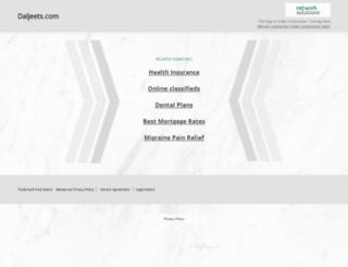 daljeets.com screenshot