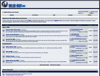 dallas-mavs.com screenshot