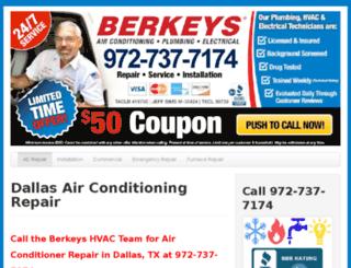 dallastx-airconditioning.com screenshot