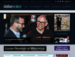 dallasvoice.com screenshot
