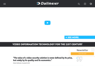 dallmeier-electronic.com screenshot