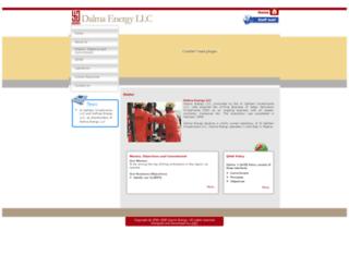 dalmaenergy.com screenshot