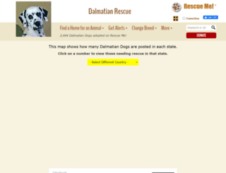 dalmatian.rescueme.org screenshot