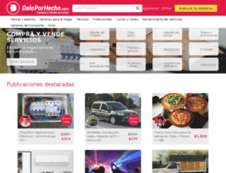 daloporhecho.com screenshot
