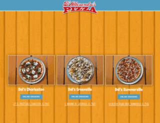 dalspizza.com screenshot