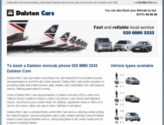 dalstoncars.com screenshot
