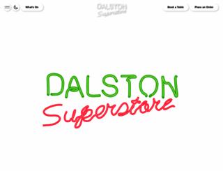 dalstonsuperstore.com screenshot