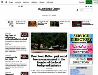 daltondailycitizen.com screenshot