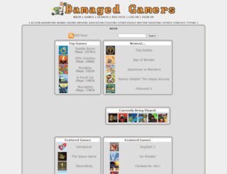 damagedgamers.com screenshot