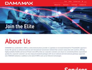 damamax.jo screenshot