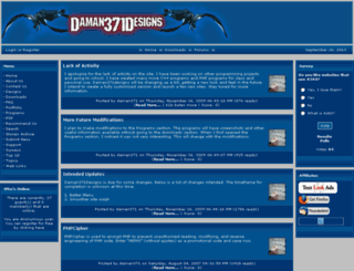 daman371designs.com screenshot