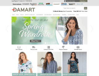 damart.innovations.com.au screenshot