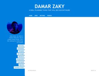 damarzaky.blogspot.com screenshot