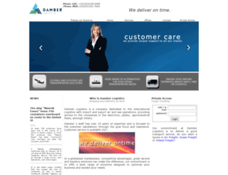 damber.com.mx screenshot