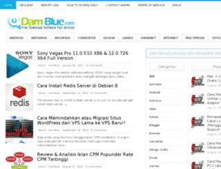 damblue.com screenshot