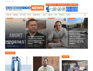 dambovitanews.ro screenshot