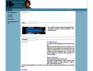 damedetrefle.com screenshot