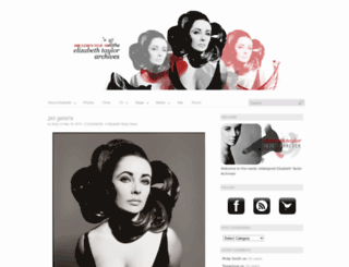 dameelizabethtaylor.com screenshot