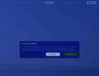 damen.nl screenshot