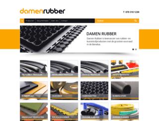 damenrubber.nl screenshot