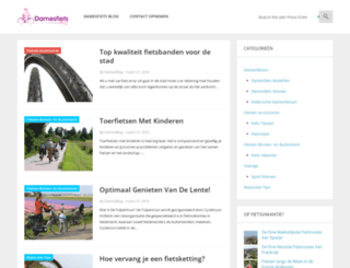 damesfietsblog.nl screenshot