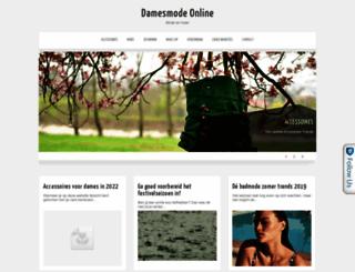 damesmode-online.nl screenshot
