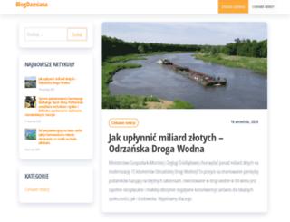 damianbednarz.pl screenshot