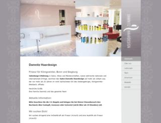 damnitz-friseure.de screenshot