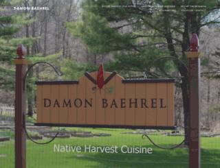 damonbaehrel.com screenshot