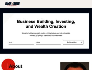 damontucker.com screenshot
