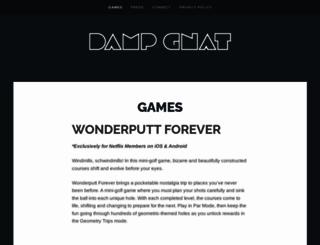 dampgnat.com screenshot