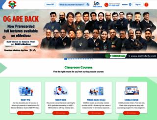 damsdelhi.com screenshot