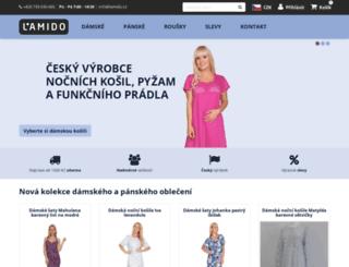 damska-pyzama.cz screenshot