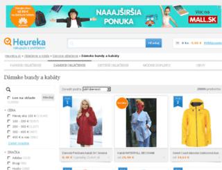 damske-bundy.heureka.sk screenshot