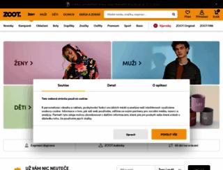 damske-obleceni.zoot.cz screenshot