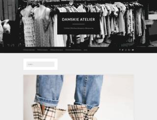 damskie-atelier.pl screenshot
