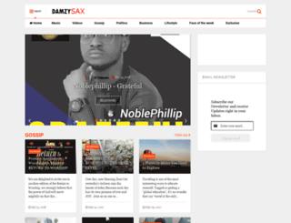 damzysax.blogspot.com screenshot