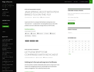 dan.enigmabridge.com screenshot