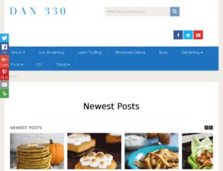 dan330.squarespace.com screenshot