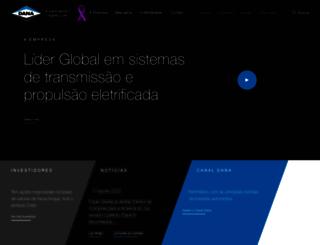 dana.com.br screenshot