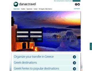 danae.gr screenshot