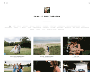 danajophotography.pixieset.com screenshot