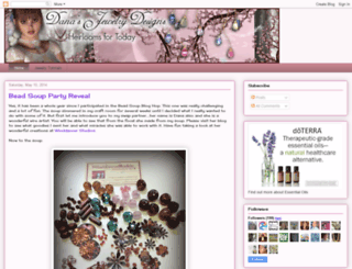 danasjewelrydesign.blogspot.com screenshot