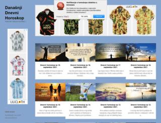 danasnji-dnevni-horoskop.com screenshot