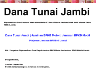 danatunaijambi.blogspot.com screenshot