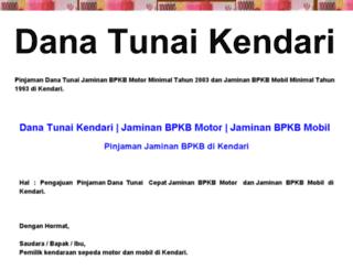 danatunaikendari.blogspot.com screenshot