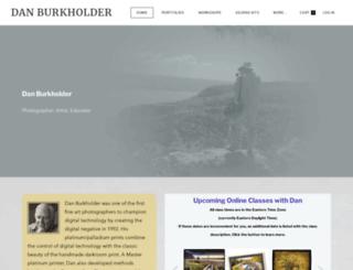 danburkholder.com screenshot