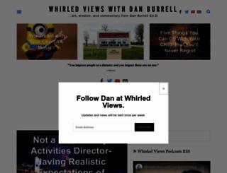danburrell.com screenshot