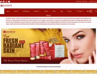 danbyskincare.com.pk screenshot