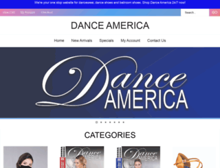 dance-america.com screenshot